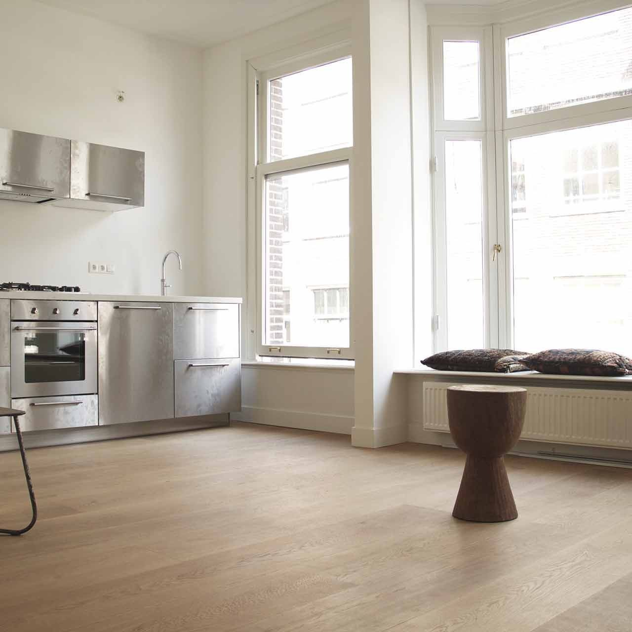 Verbouwing appartement Amsterdam