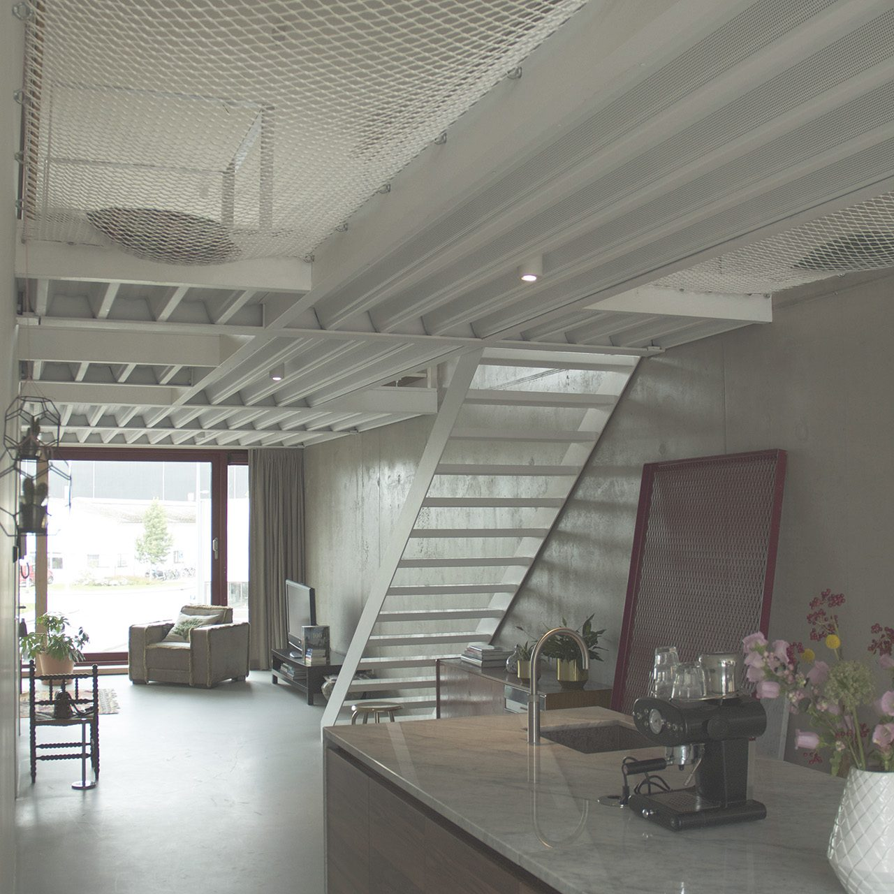 Verbouwing loft Amsterdam