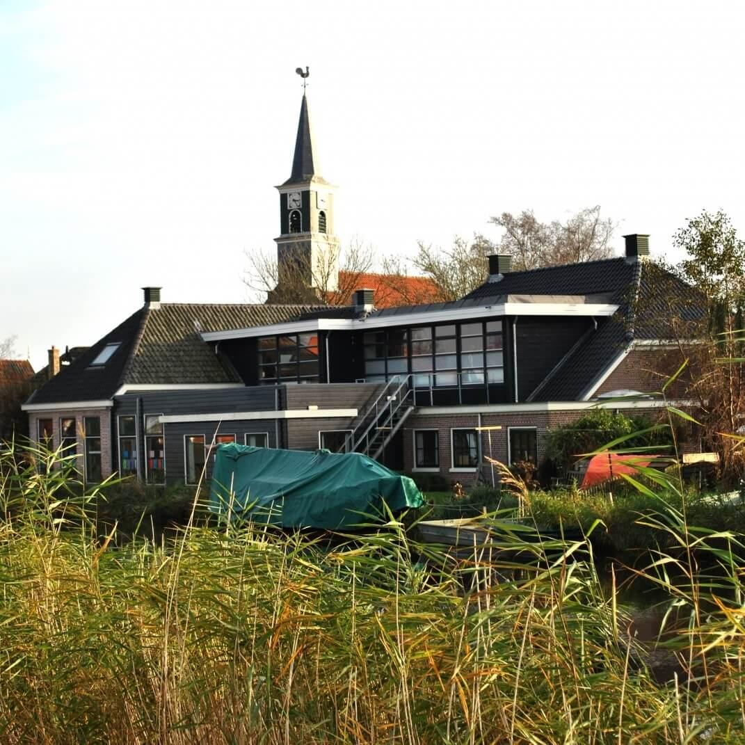 Schoolverbouwing in Driehuizen