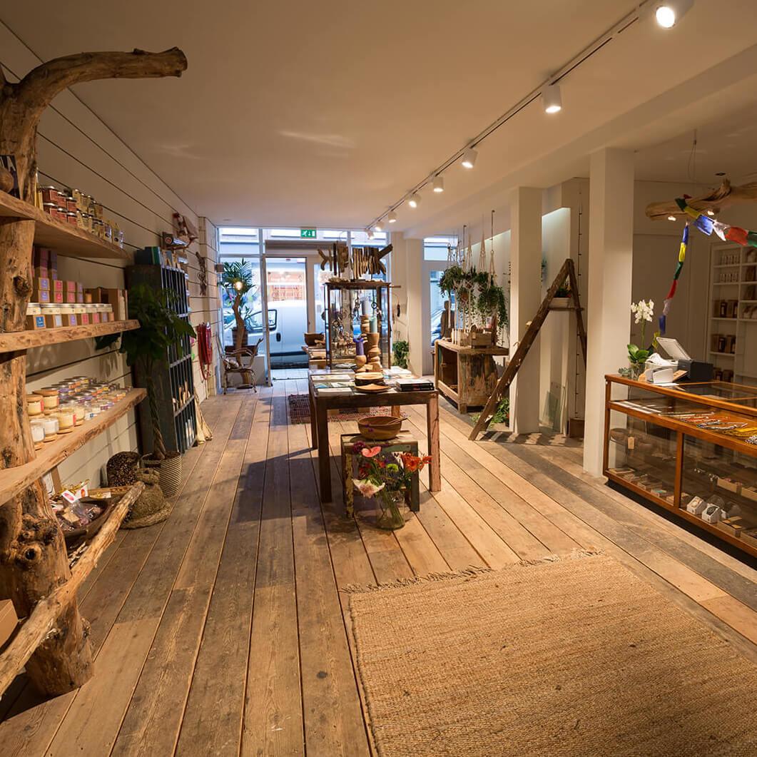 Store renovation Amsterdam