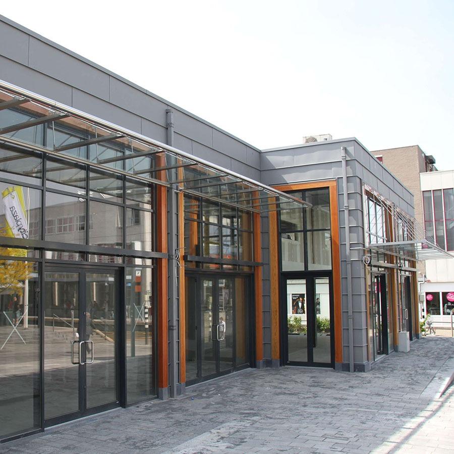 Winkelcentrum verbouwing